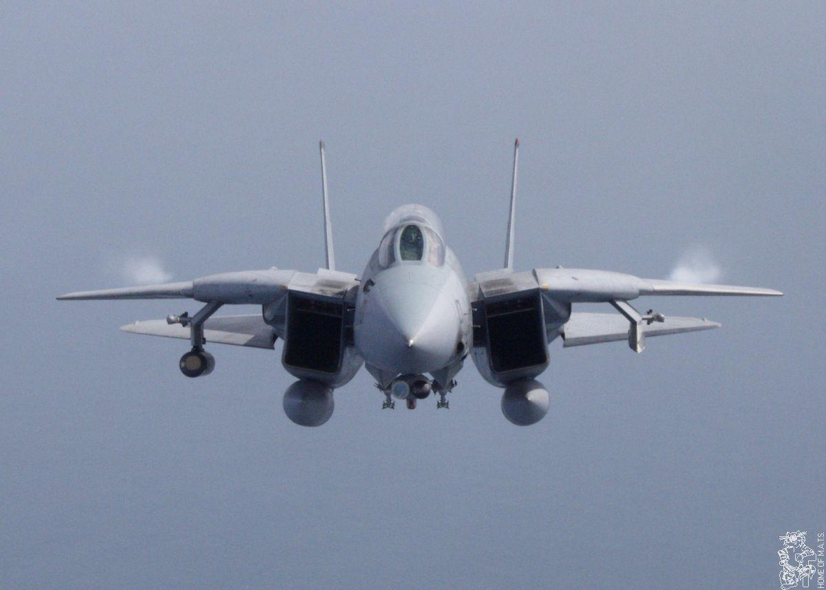 F-14 Tomcat el mejor avion de combate!